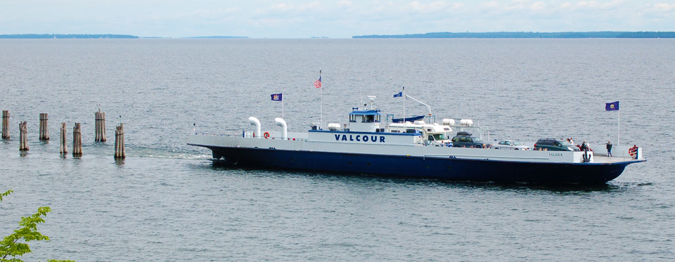 Burlington, VT – Port Kent, NY – Lake Champlain Ferries