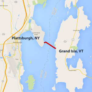 Grand Isle VT Plattsburgh NY Ferry Rates and Restrictions Lake