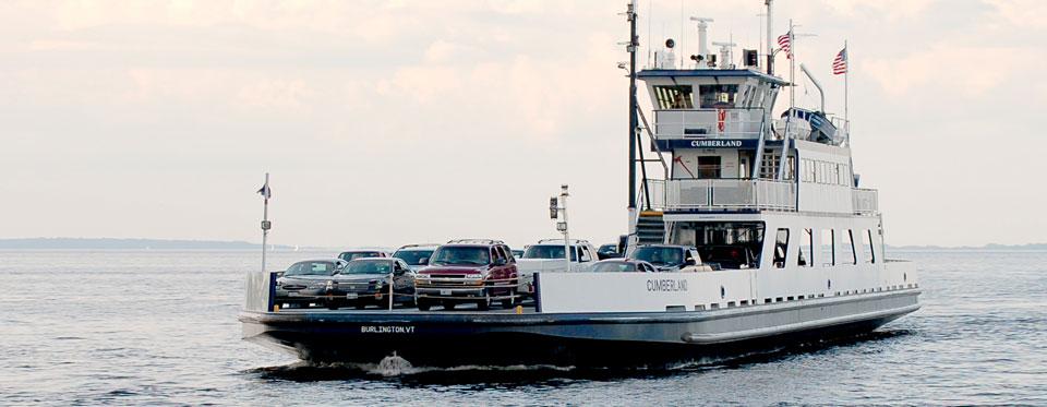Grand Isle, VT – Plattsburgh, NY – Lake Champlain Ferries